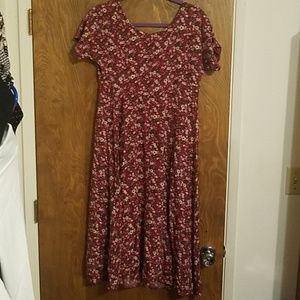 All that Jazz floral dress size 11/12